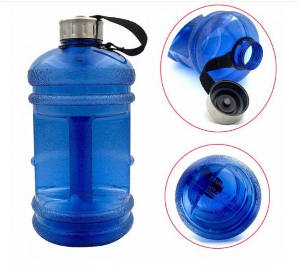 ขวดน้้ำฟิตเนส 2.2L กระบอกน้ำฟิตเนส ขวดน้ำพลาสติกฟิตเนส