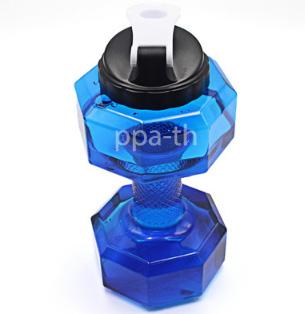 ขวดน้ำฟิตเนส ดัมเบล 2.2 L,กระบอกน้ำดัมเบล,ขวดน้ำออกกำลังกาย