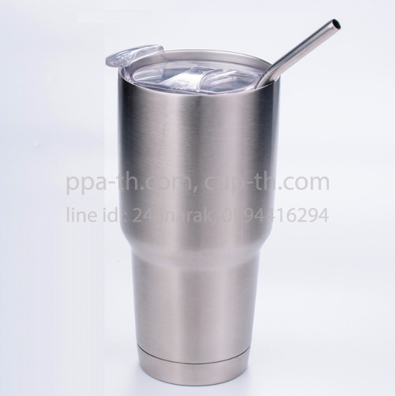 แก้วสแตนเลสทรง YETI