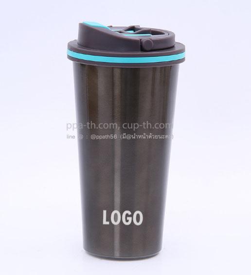 แก้วน้ำสแตนเลส 304 ทรงสตาร์บัค ,กระบอกน้ำสแตนเลสทรง Starbucks